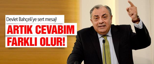 Tuğrul Türkeş'ten Bahçeli'e sert mesaj!