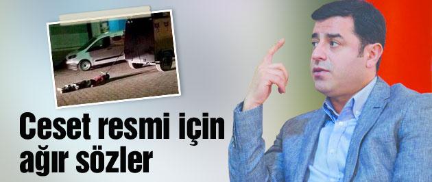 Selahattin Demirtaş'tan o fotoğraf için olay sözler