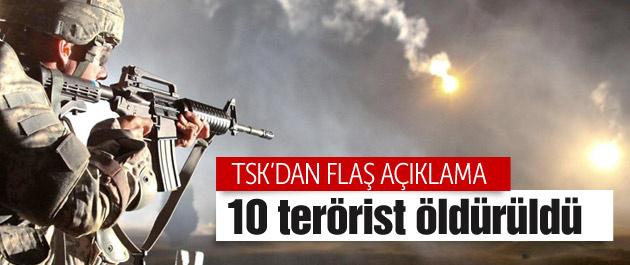 Şemdinli PKK'ya dar edildi TSK sayıyı açıkladı