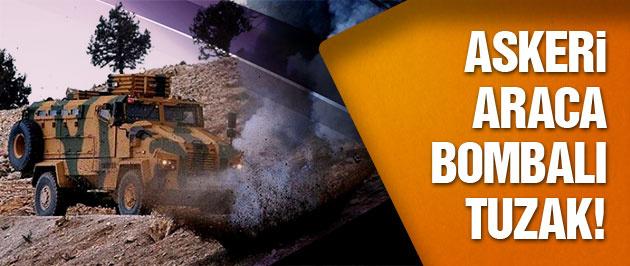 Diyarbakır'da askeri araca bombalı tuzak!
