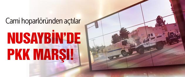Cami hoparlöründen PKK marşı dinlettiler!