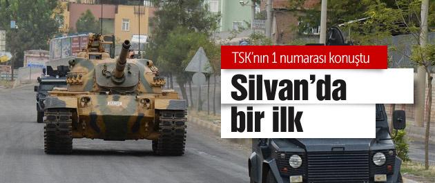 Silvan'daki o tank TSK'nın 1 numarası konuştu