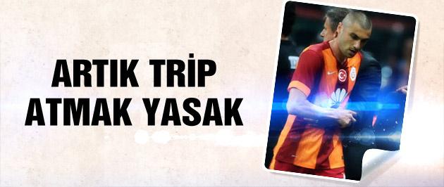 Galatasaray'da trip atmak yasak!