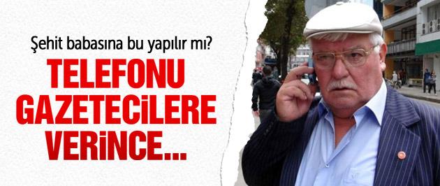 Zonguldak'ta şehit babasını ağlatan olay!