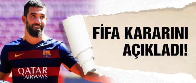 FIFA Arda Turan kararını verdi