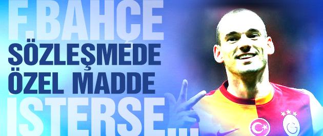 Sneijder'in sözleşmesine özel madde!
