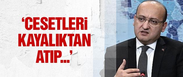 Akdoğan'dan flaş PKK açıklaması: Cesetleri...