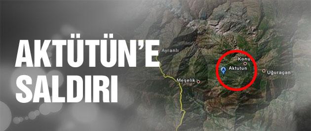 Aktütün'e saldırı girişimi TSK flaş açıklama
