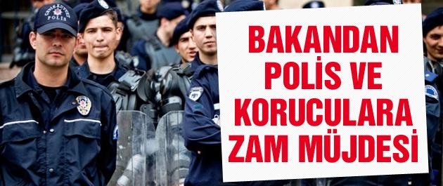 Polis ve koruculara zam müjdesi!