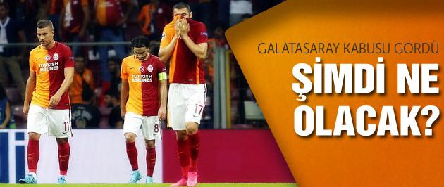 Galatasaray kabusu gördü!