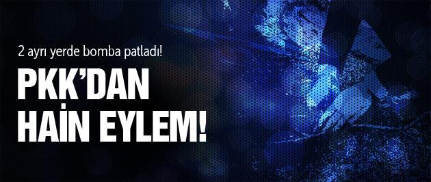 Diyarbakır'da bomba patladı 1 çocuk öldü