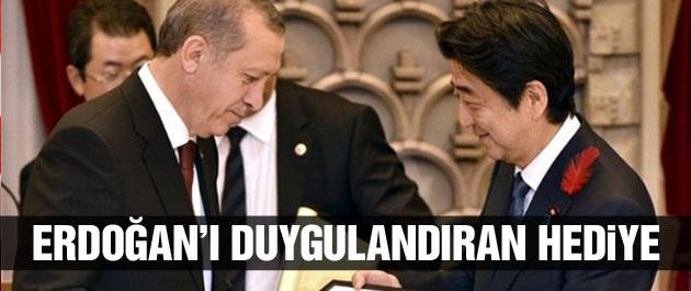 Japonya'da Erdoğan'ı duygulandıran hediye