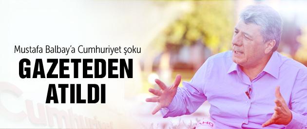 Mustafa Balbay'a Cumhuriyet şoku!