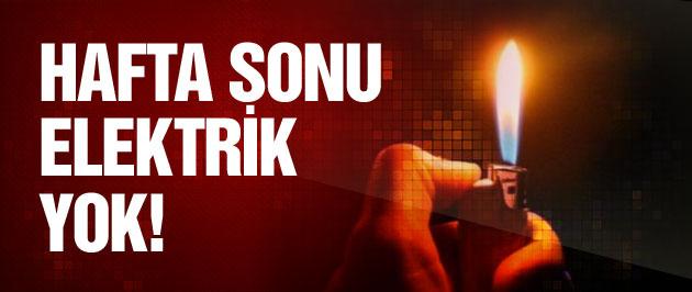 İstanbul elektrik kesintisi ilçe ilçe tam liste BEDAŞ