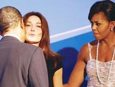 İşte bayan Obamanın erkek modeli