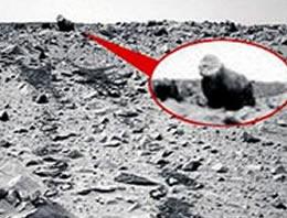 Mars'ta şimdi de 'goril' bulundu