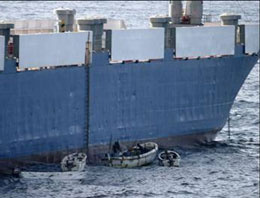 Türk gemisi kaçırıldı