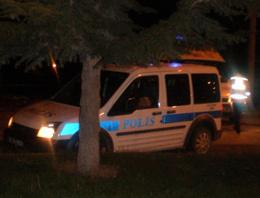 Samsun'da polis aracına hain saldırı