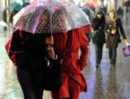 Şemsiyenizi unutmayın yağmur var