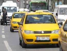 Taksiciler sonunda 'oh be' diyecek!