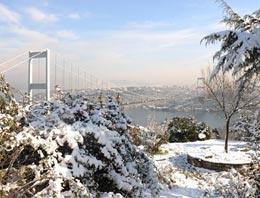 İstabul'da kar neden tutmuyor!