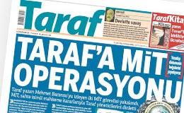 MİT Taraf'takileri terörist diye dinletti!