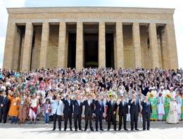 Anıtkabir'de Yunan krizi çıktı