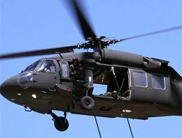Askeri helikopter düştü: 1 şehit