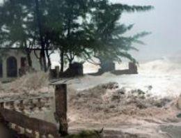 Sandy kasırgası Karayipler'de 39 can aldı