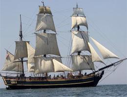 Kasırga HMS Bounty'yi de batırdı
