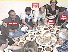 BDP'li vekillerin 'kebap' fotoğrafı dillerde
