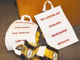 CHP'lilerden Meclis'te limonlu protesto!