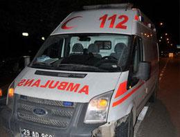 Açlık grevindeki tutuklu hastaneye kaldırıldı