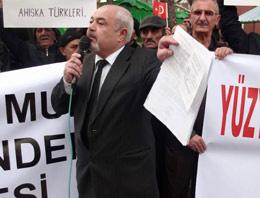 Ahıska Türkleri haklarını haykırdı