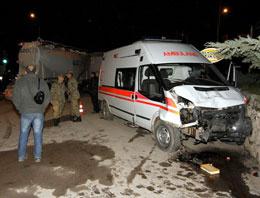Amasya'da kaza: 13 asker yaralı!