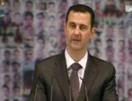 Esad ateşkes ve görüşmelerden söz etti