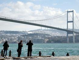 Güneşi gören İstanbullular sahile koştu