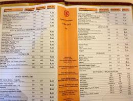 İşte Meclis lokantasının sudan ucuz fiyat mönüsü