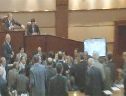 İBB meclisinde Esenyurt arbedesi