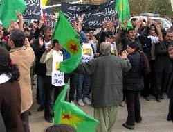 Adanada PKK gösterisi