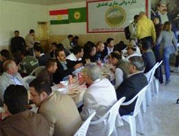 İşte PKK'nın gazetecilere yedirdiği yemek