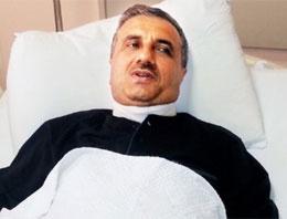 Göstericiler AK Partili başkanı bıçaklandı
