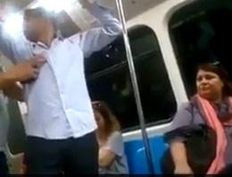 Metroda sahtekar Başbakan deyince