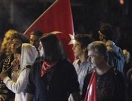 Ankara'da sert müdahale