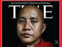 Müslüman katili TIME'a kapak oldu!