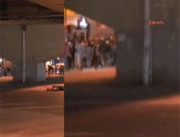 İşte polise ateş açan eylemci!
