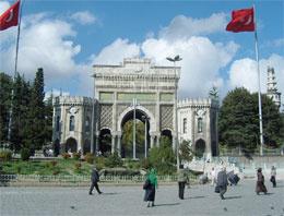 İstanbul Üniversitesi'nde açılış eylemi