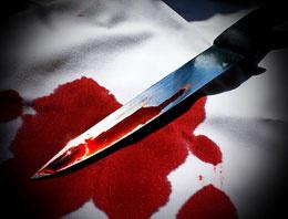Tartıştığı kocasını bıçakla yaraladı