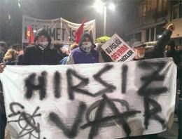 Kadıköy'deki gösterilere müdahale!