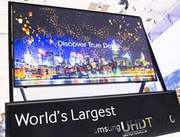 Samsung'dan Dünya'nın en pahalı televizyonu!
